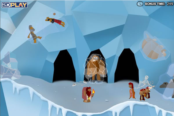 giochi gratis stoneage-sam-2-the-ice-age-screenshot